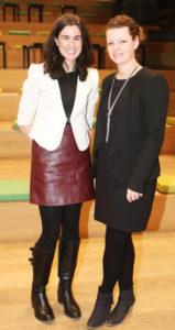 Nikki Fetherston and Claire Nolan