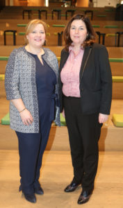 Lorraine Carlisle and Bronagh Carty