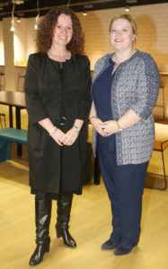 Dr Roisin Murphy and Lorriane