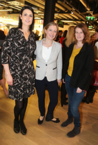 Emma Keenan, Sarah McDonnell and Louise Casey