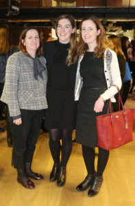 Jacinta Tighe, Aoife Reilly and Deirdre Reilly