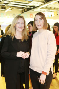 Michelle Leyden and Niamh Curtin